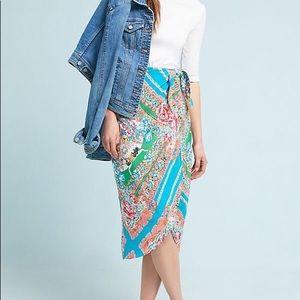 Maeve Bette wrap skirt